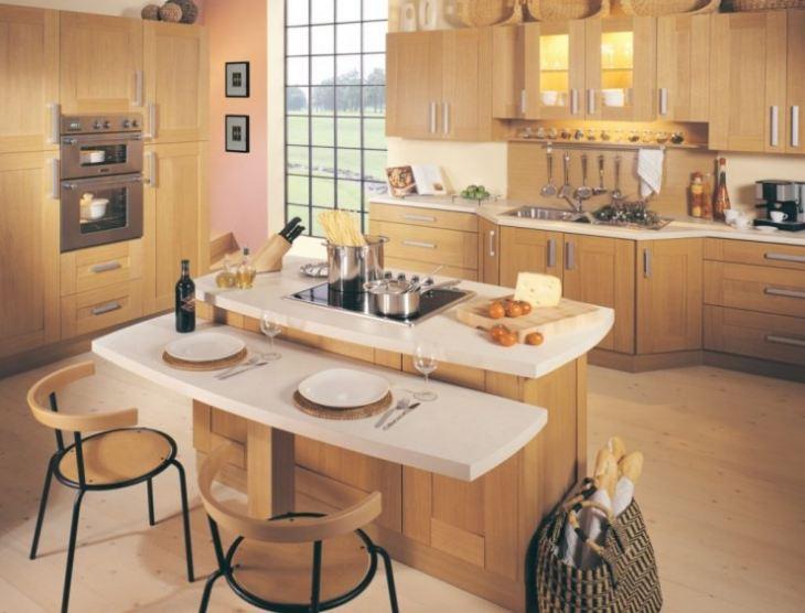 Кухня в частном доме дизайн