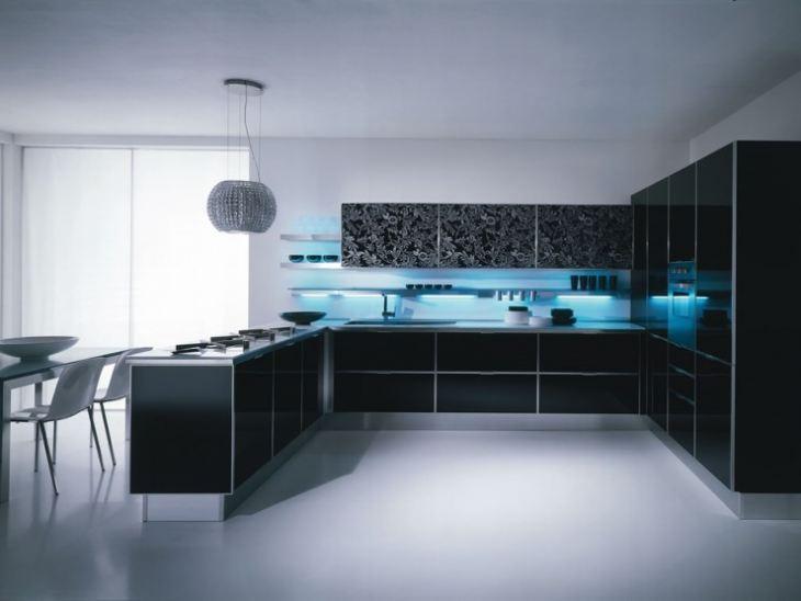 Кухонные гарнитуры для частного дома