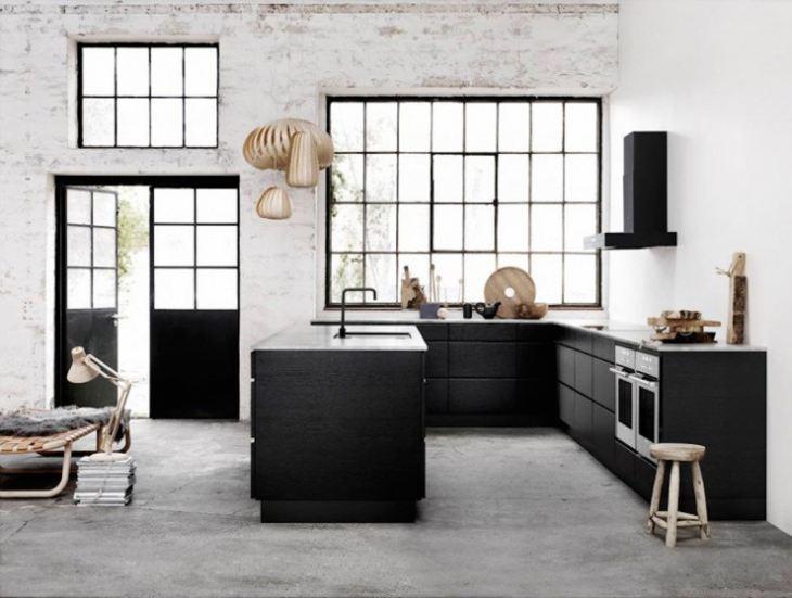 Проекты кухонь в частном доме