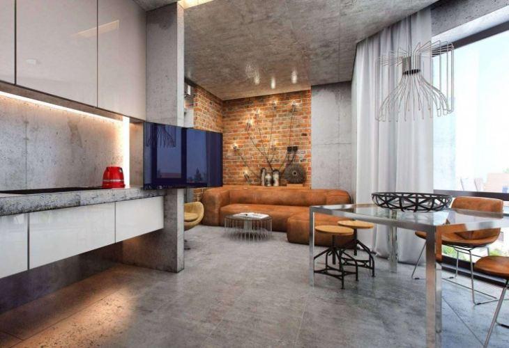 Большие кухни в частном доме фото