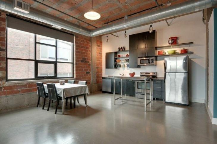 Интерьер кухни в частном доме фото