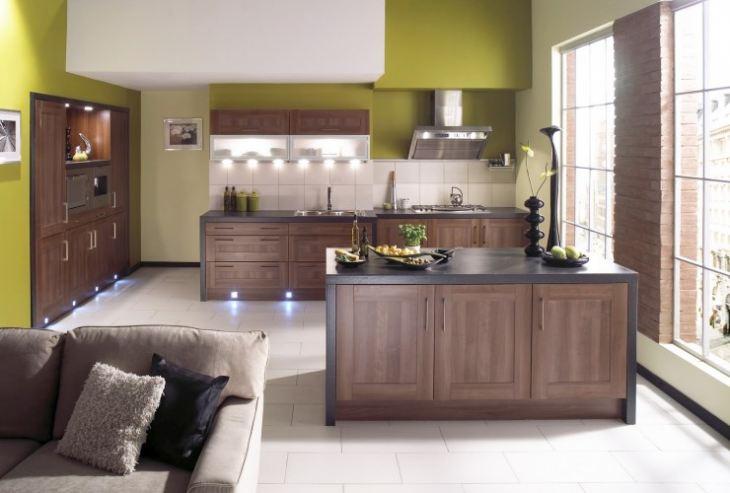Кухни в доме фото