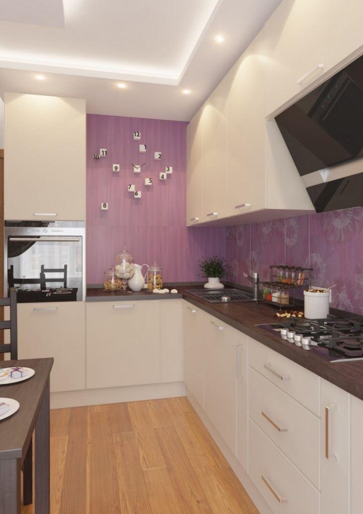 фото дизайн кухни 7 м кв