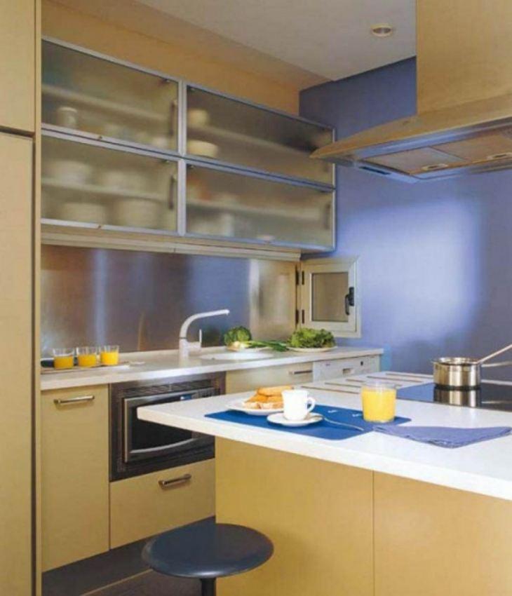 Дизайн кухни 7 кв. м