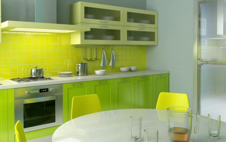 лимонно салатовый цвет