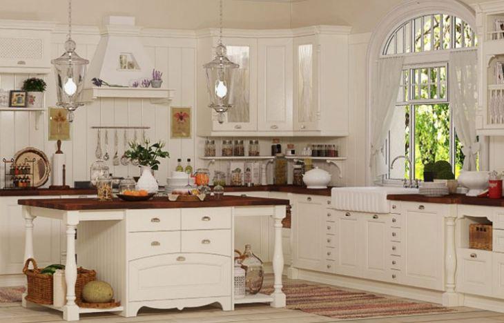 Кухни в стиле прованс в самаре
