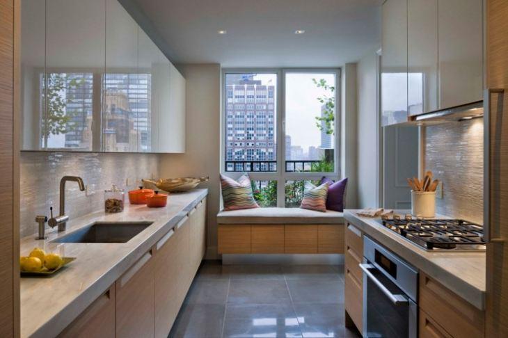 Дизайн интерьера балкон-кухня фото