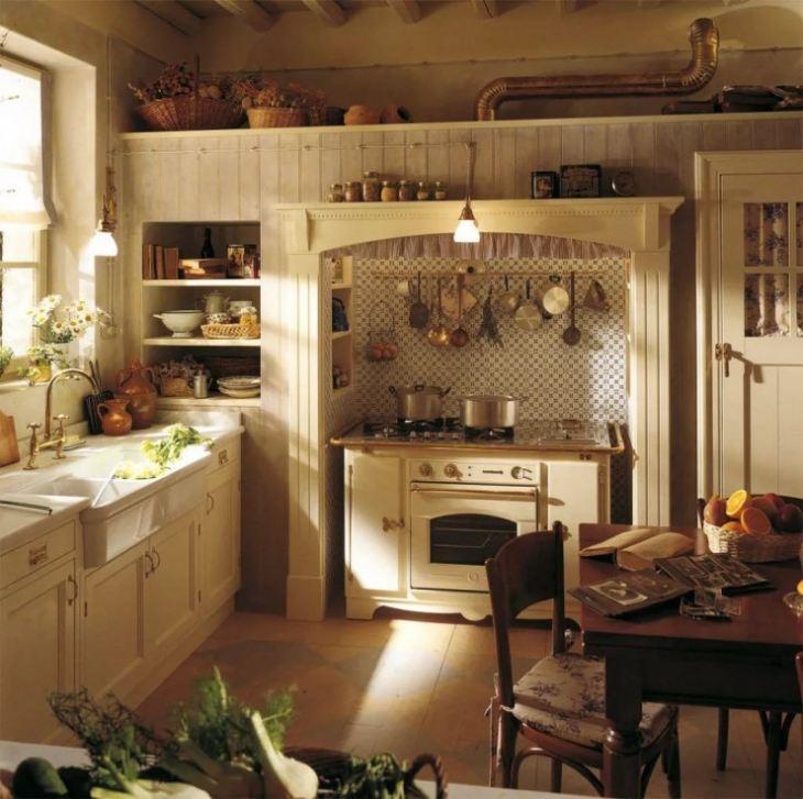 Американские кухни интерьер