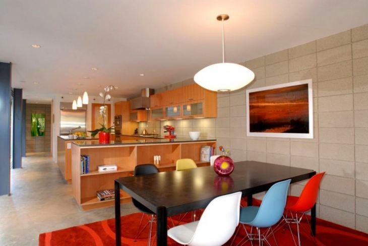 Кухня в американском стиле интерьер