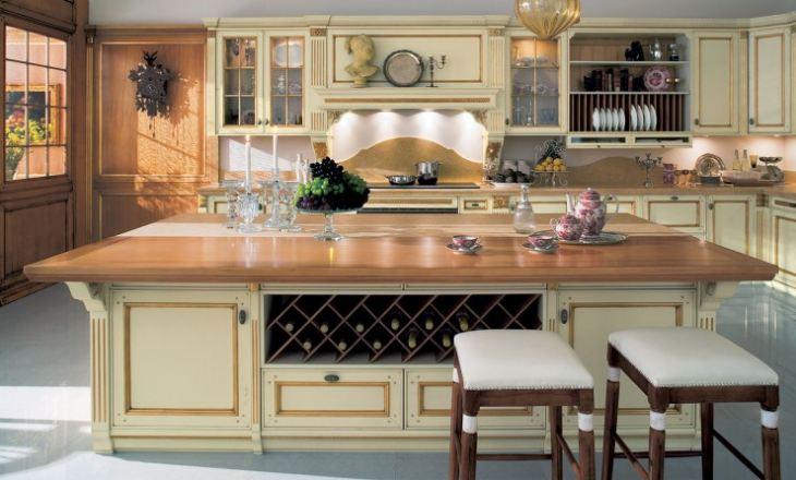 Кухни в американских домах