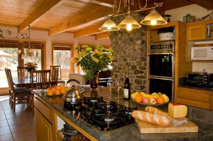 Кухни в американском стиле