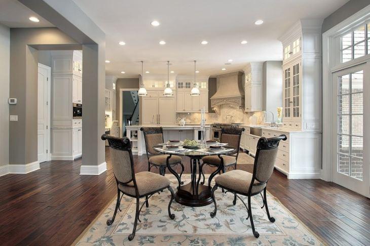 Кухня гостиная в американском стиле фото