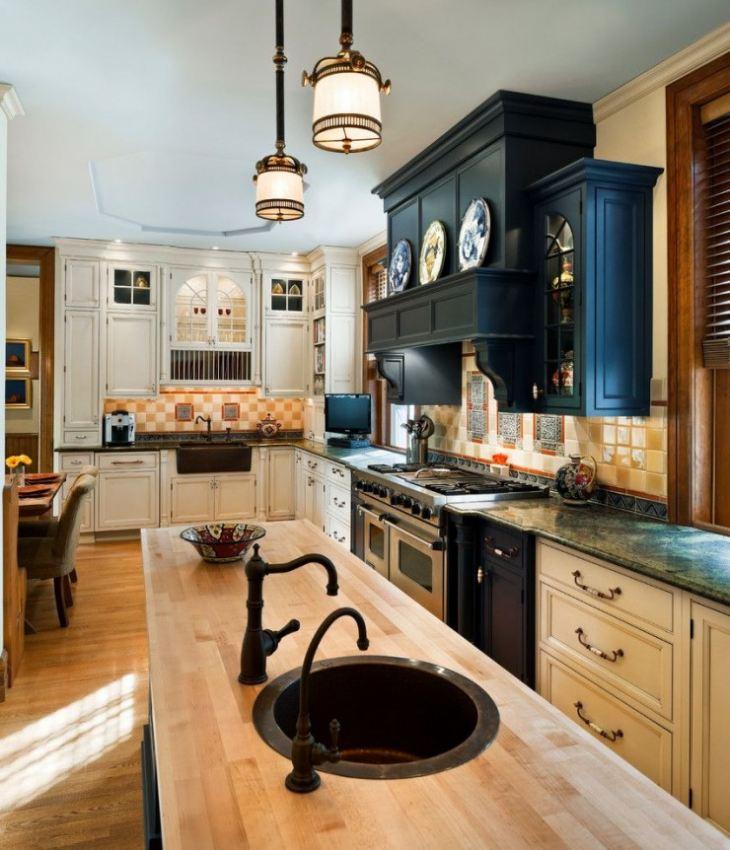 Американские кухни дизайн