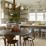 Кухня в американском стиле фото интерьер
