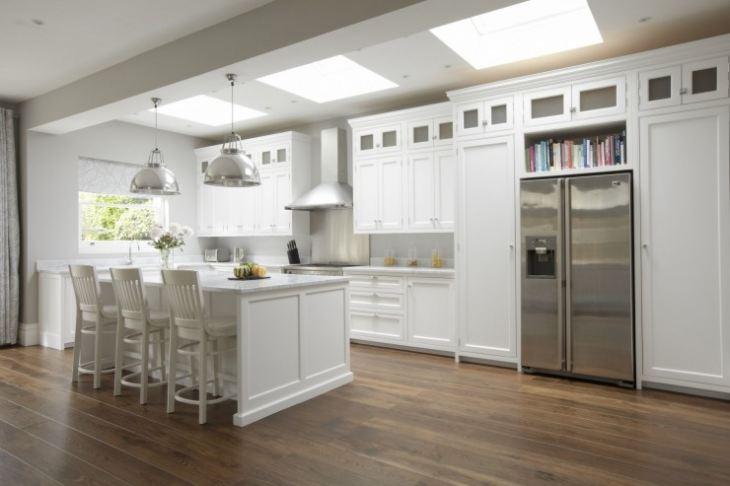 Кухни в стиле американская классика