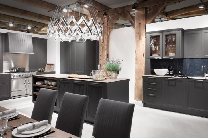 Американские кухни фото дизайн