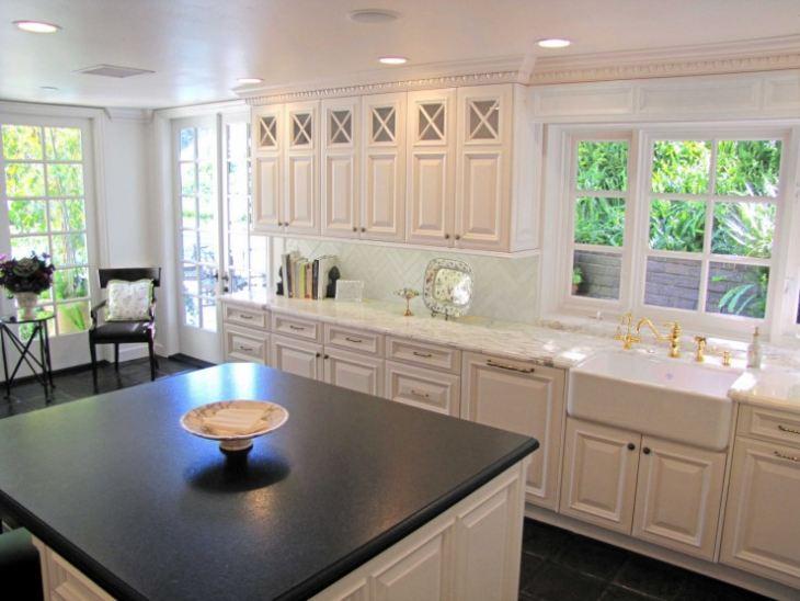 Дизайн кухни американский стиль