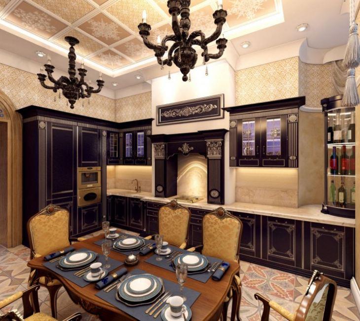 Кухня готика