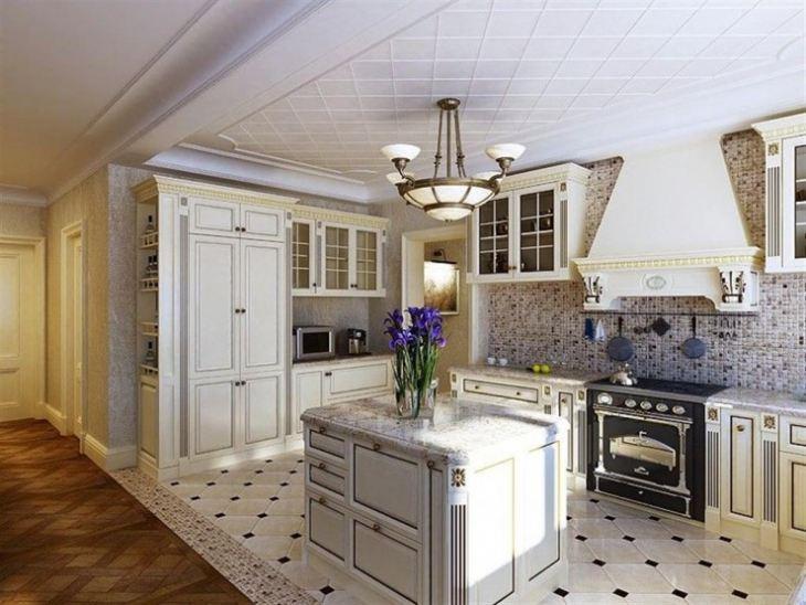 кухня классика фото