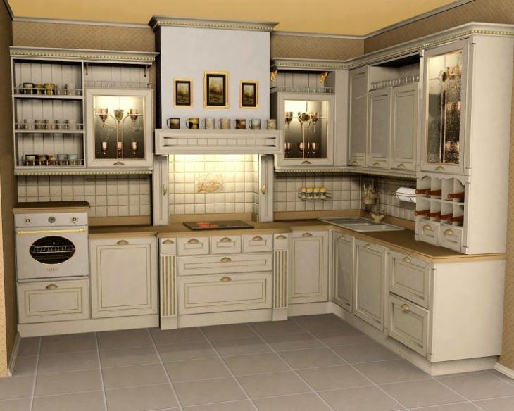 кухня классическая