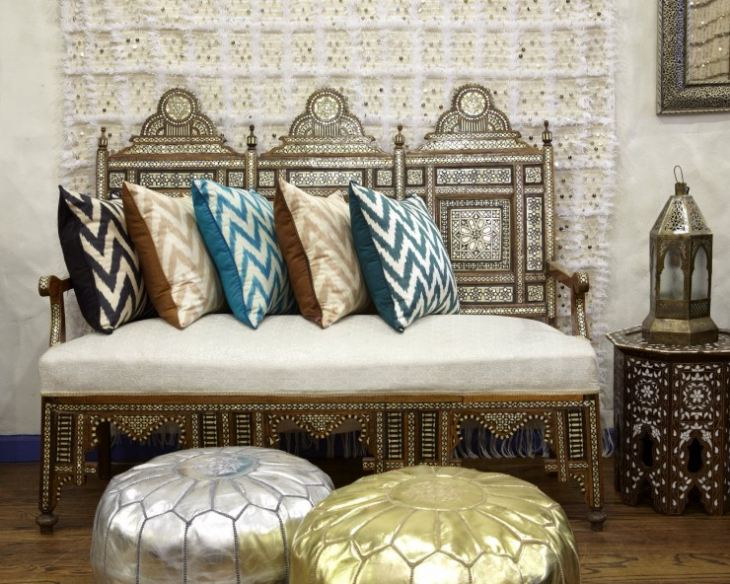 Восточная мебель в марокканском стиле
