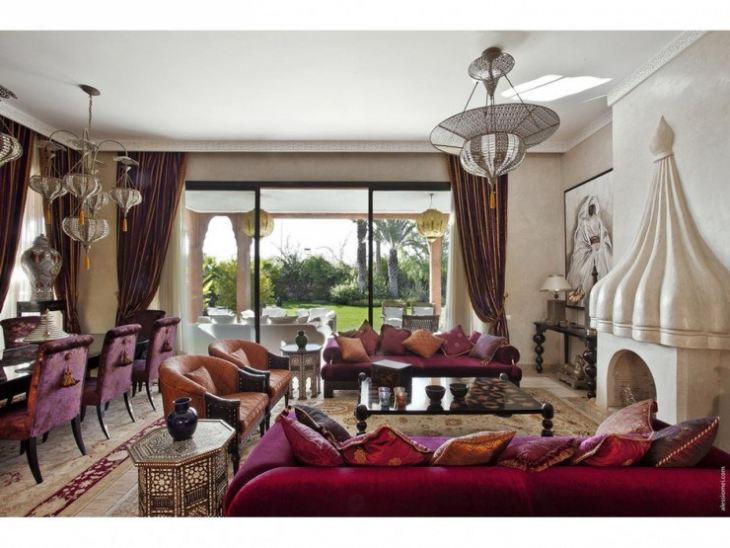 Интерьер кухни в марокканском стиле