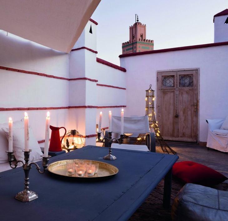 Кухня в стиле Марокко