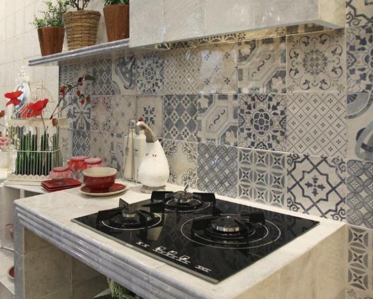 Марокканская плитка на кухне фото