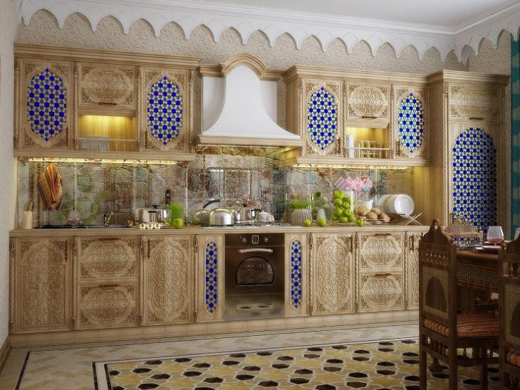 Марокканский стиль в кухне