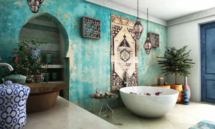 Кухня в марокканском стиле дизайн