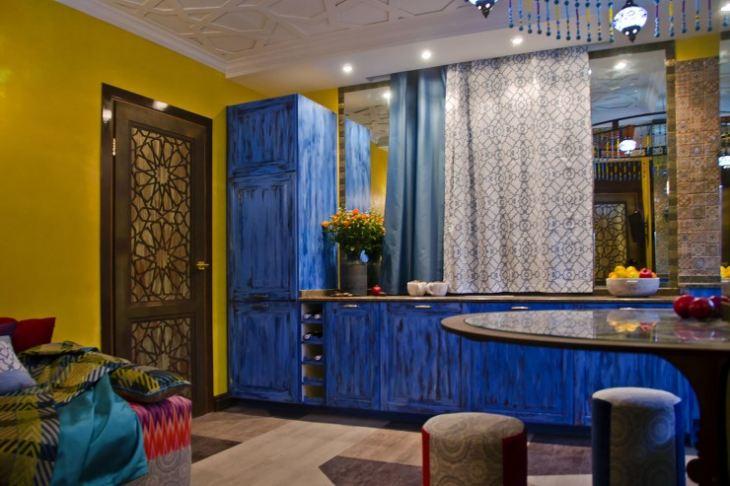 Дизайн квартиры в марокканском стиле