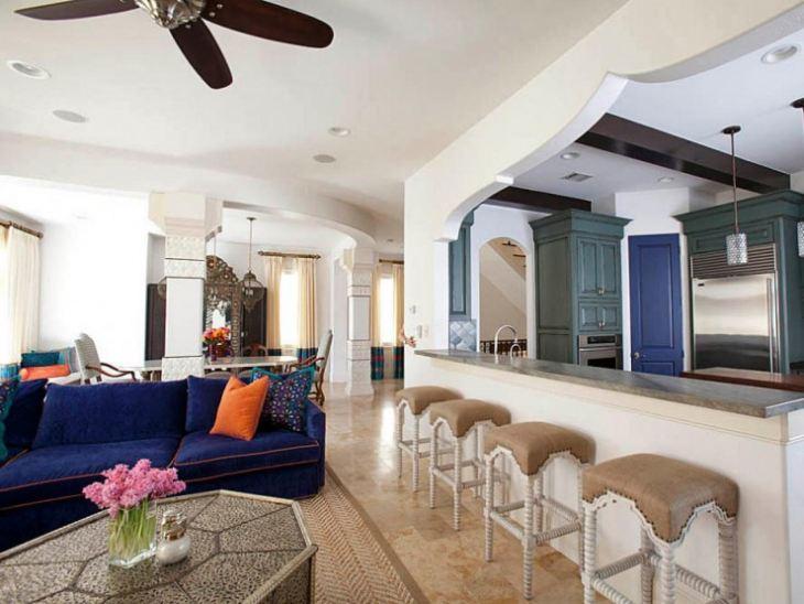 Мебель в марокканском стиле