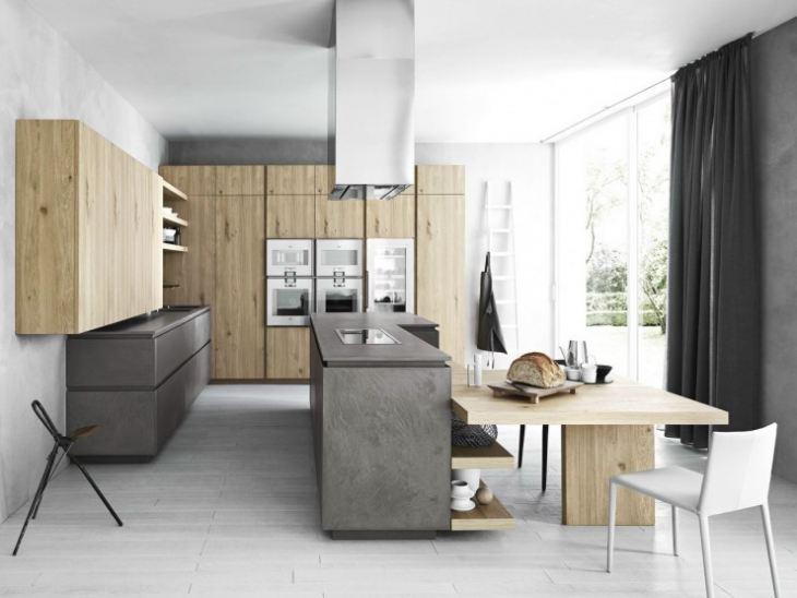 кухонный гарнитур в стиле модерн