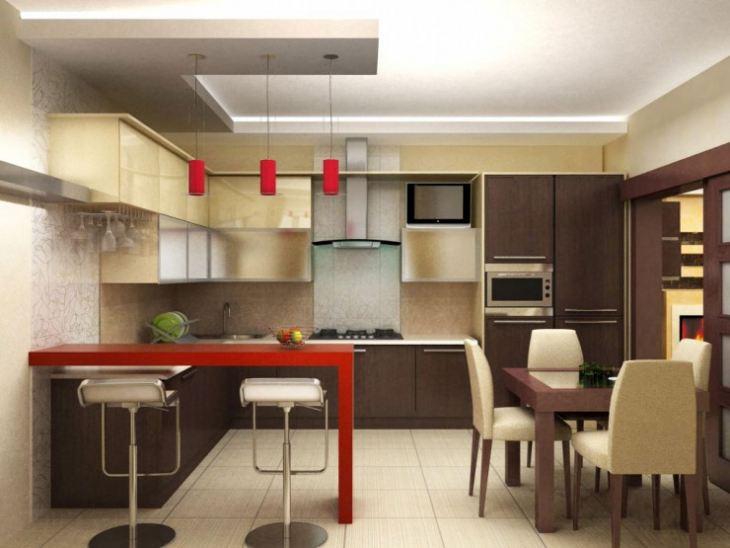 дизайн кухни модерн