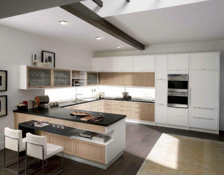 кухни в стиле модерн фото дизайн