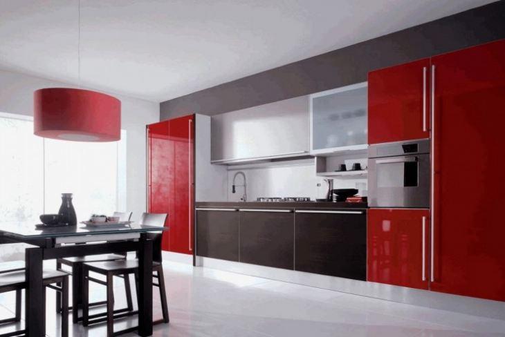 кухня гостиная в стиле модерн