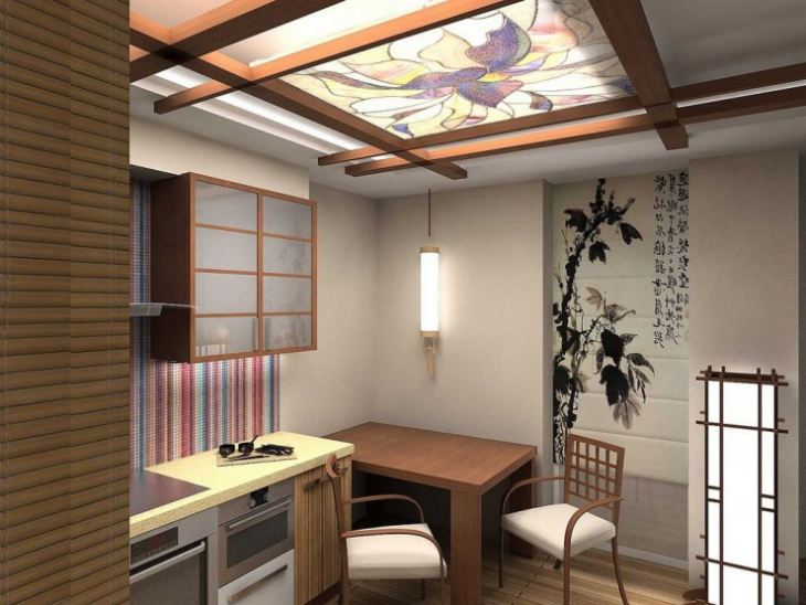 кухня в японском стиле фото дизайн