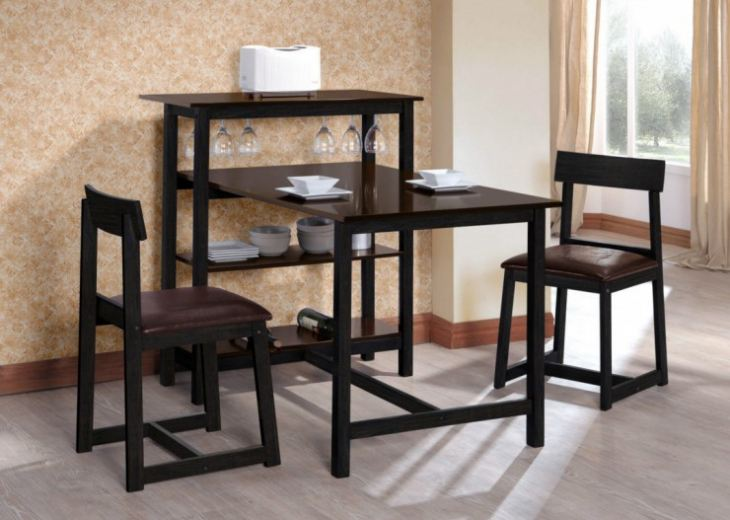 Стол и стулья для маленькой кухни фото