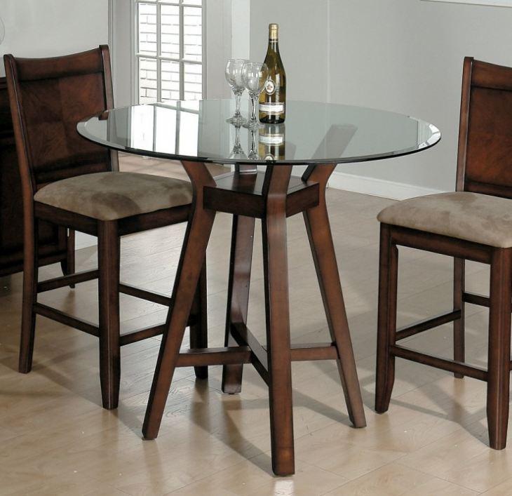 Стол стеклянный кухонный раскладной для маленькой кухни
