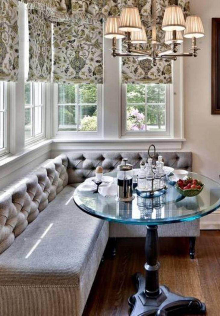 Дизайн кухонного стола для маленькой кухни