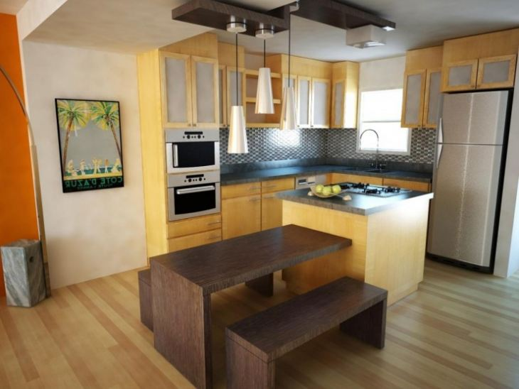 Маленькие кухонные столы для маленькой кухни