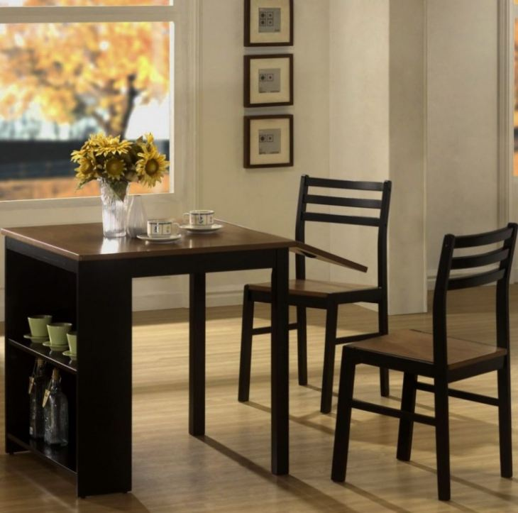 Фото кухонного стола для маленькой кухни