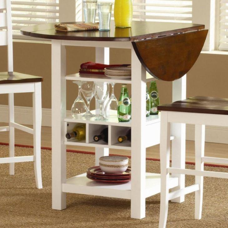 Ообеденный столик для маленькой кухни