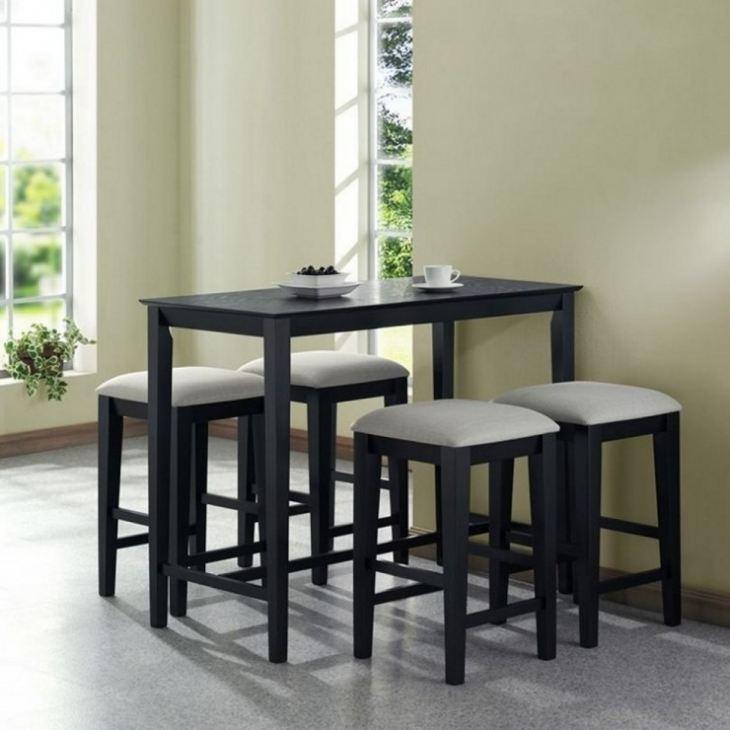 Стол и стулья в маленькую кухню фото