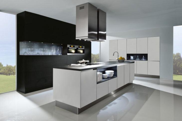 модульные кухни фото в интерьере