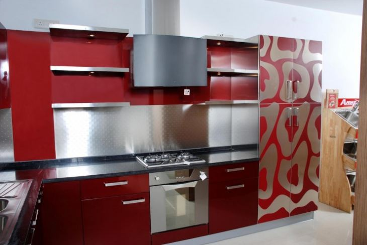 варианты модульных кухонь