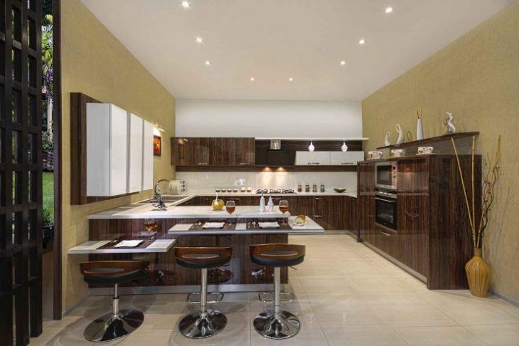 дизайн модульных кухонь фото