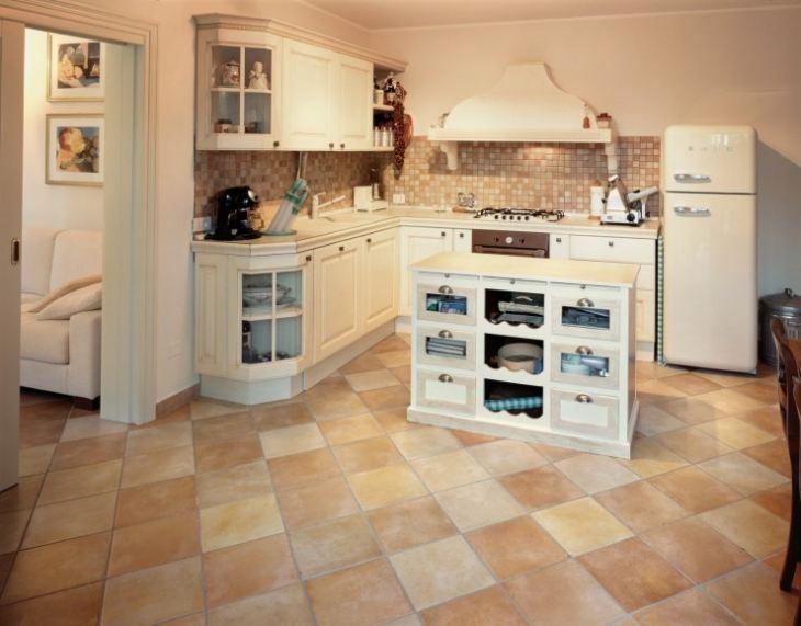 полы на кухне что лучше