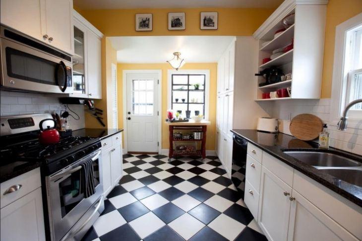 пол на кухню