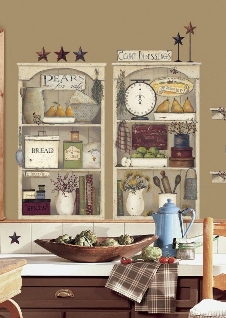 Как сделать полки на кухне своими руками